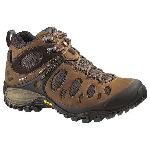 photo: Merrell Chameleon Evo Mid Gore-Tex XCR hiking boot
