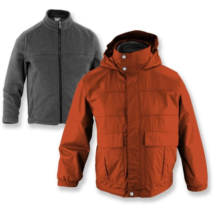 photo: White Sierra Snow Day 3-in-1 Jacket component (3-in-1) jacket