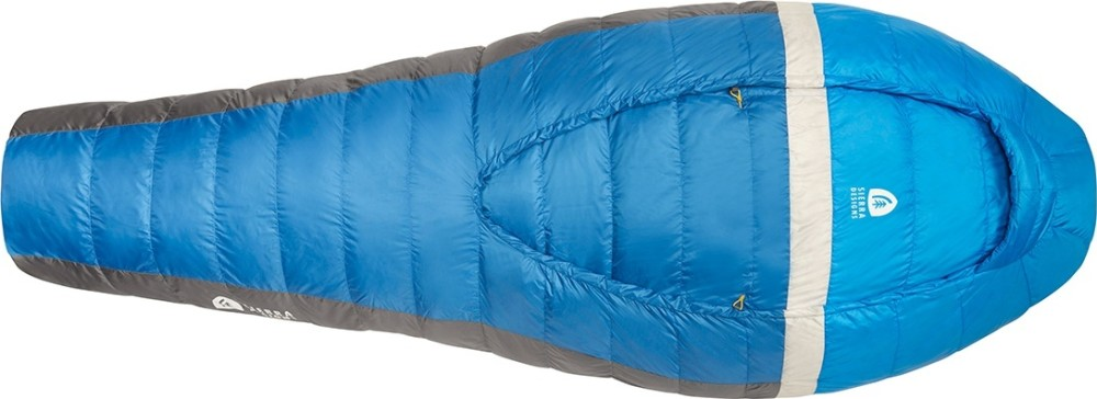 photo: Sierra Designs Backcountry Bed 700 / 35 Degree warm weather down sleeping bag