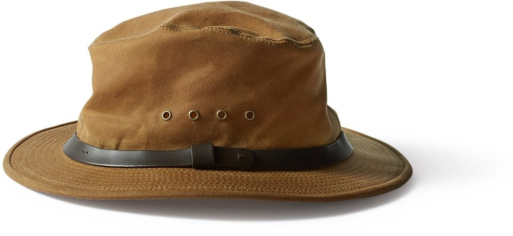 photo: Filson Tin Packer Hat rain hat