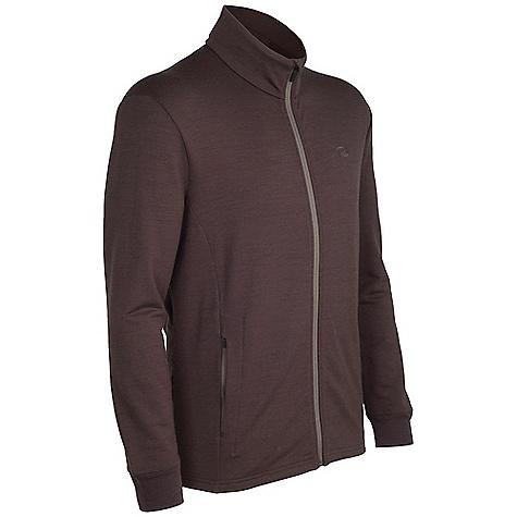 photo: Icebreaker Quattro Jacket wool jacket