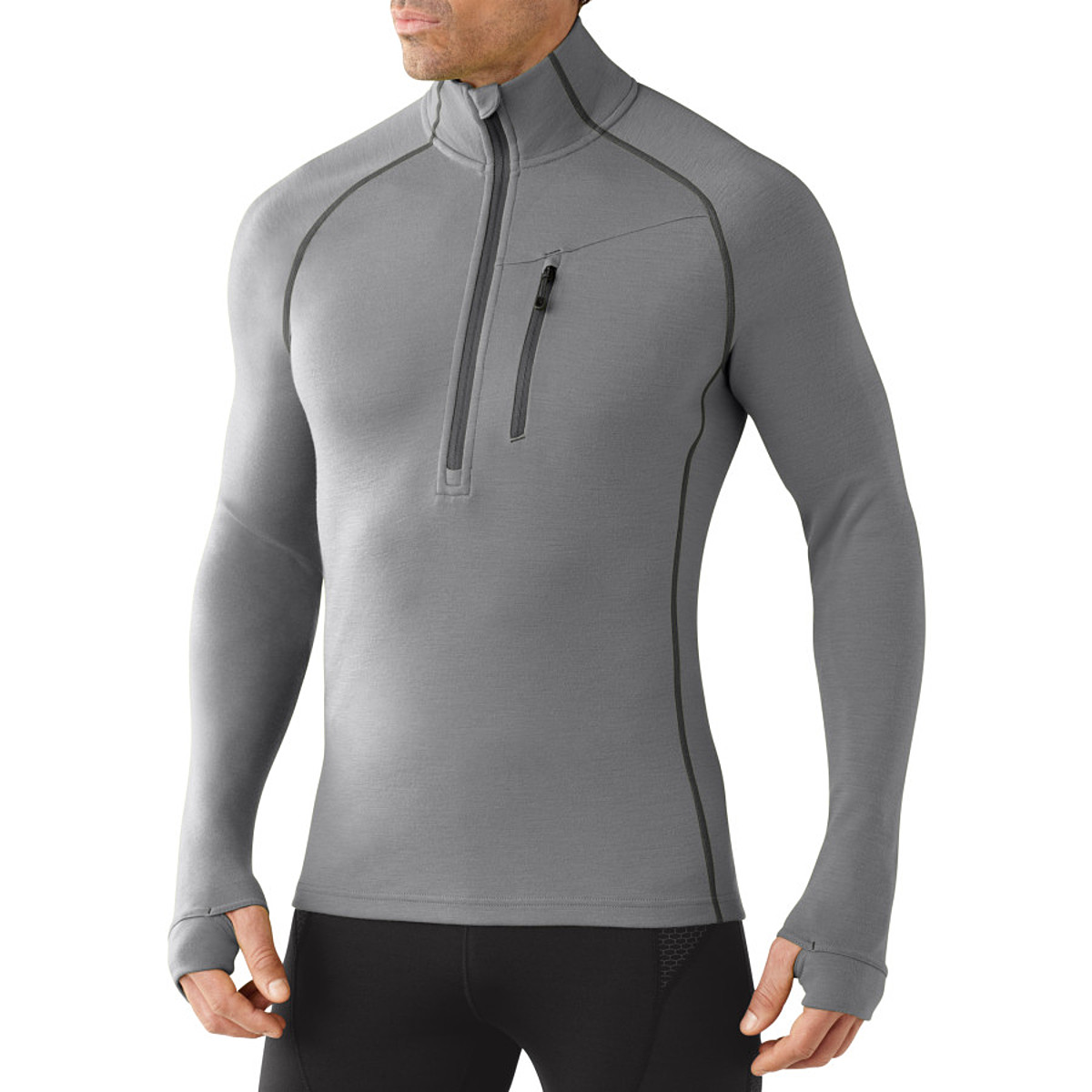 photo: Smartwool MerinoMax Half Zip base layer top