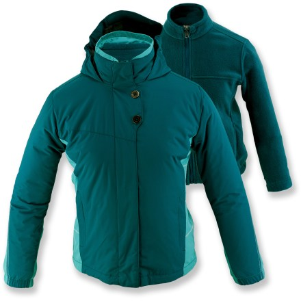 White Sierra Snow Flake 3-in-1 Jacket
