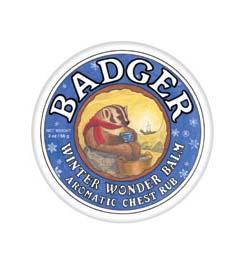 photo: Badger Winter Wonder Balm hygiene supply/device
