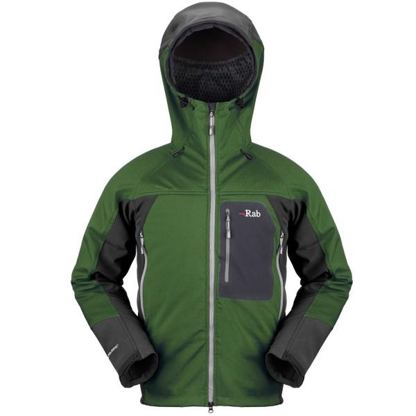 photo: Rab Baltoro Guide soft shell jacket