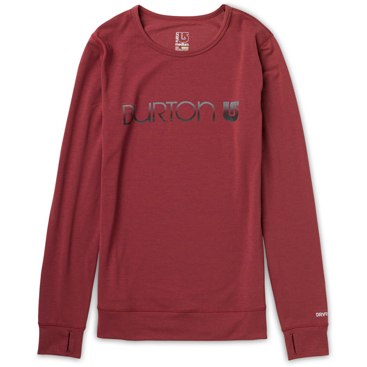 photo: Burton Women's Midweight Crew base layer top