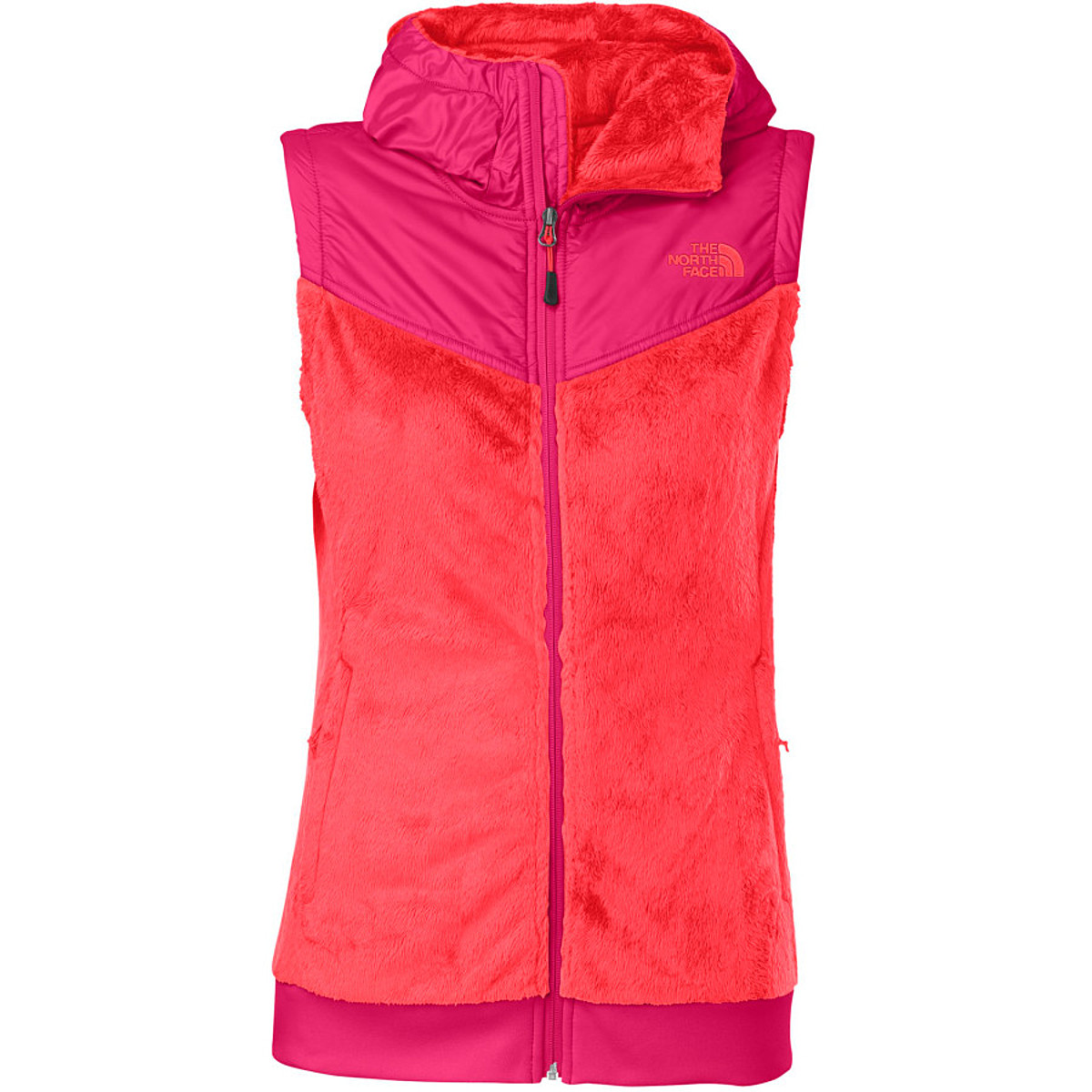 photo: The North Face Oso Vest Hoodie fleece vest