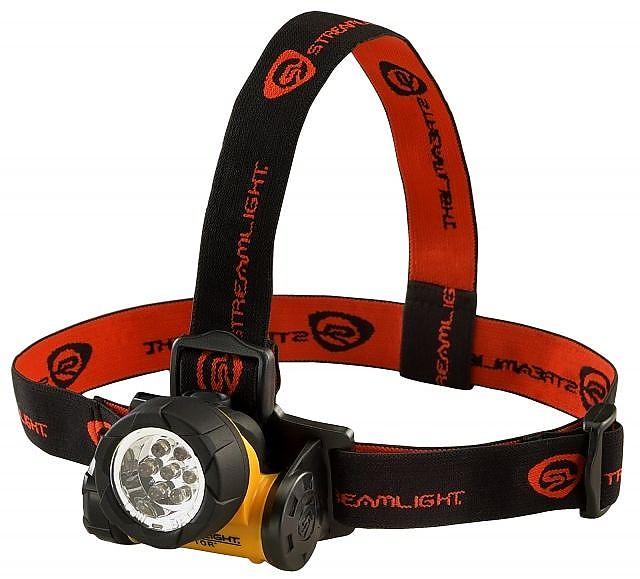 photo: Streamlight Septor headlamp