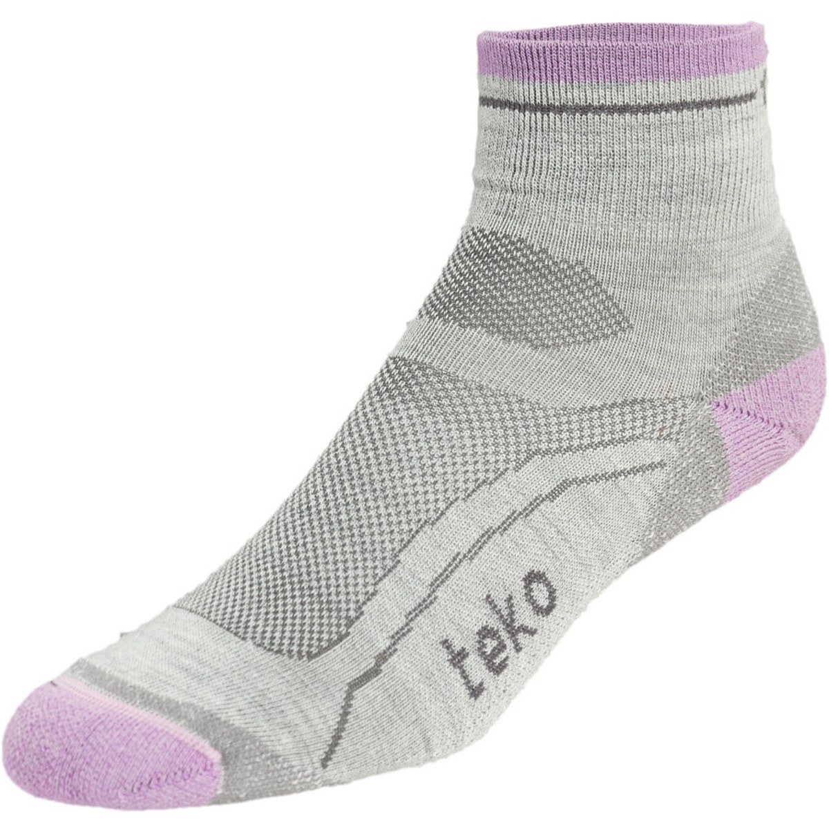 Teko Organic SIN3RGI Light Minicrew Running Sock