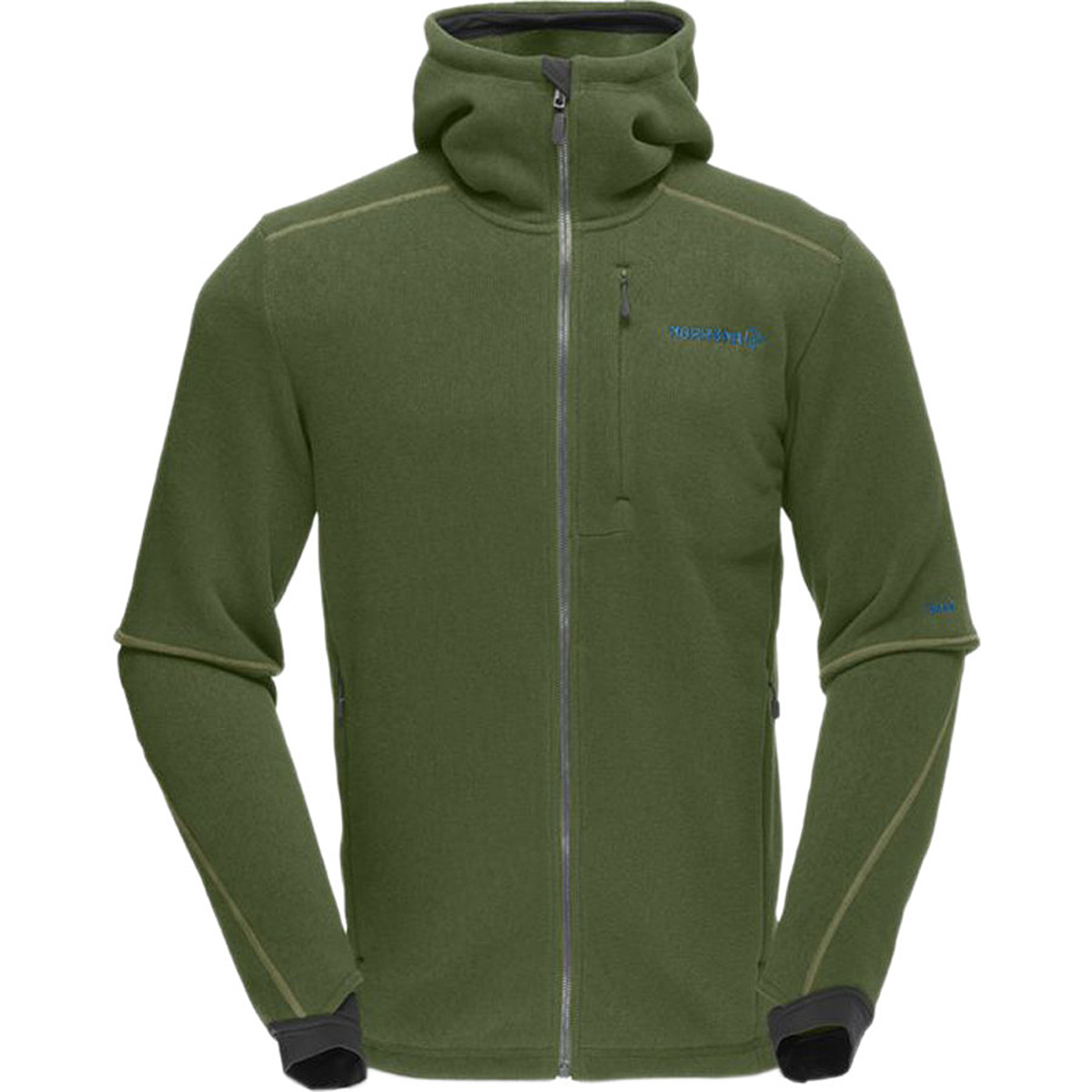 photo: Norrona Roldal Warm2 Jacket fleece jacket
