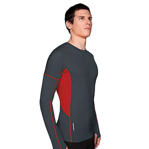 photo: Icebreaker Men's GT 180 Chase Crewe L/S long sleeve performance top