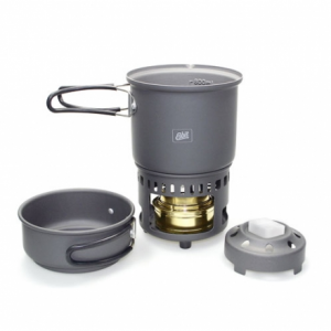 Esbit Alcohol Stove & Trekking Cookset CS985HA