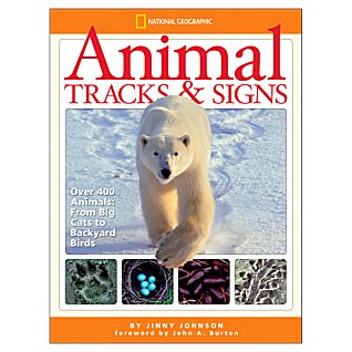 National Geographic Animal Tracks and Signs