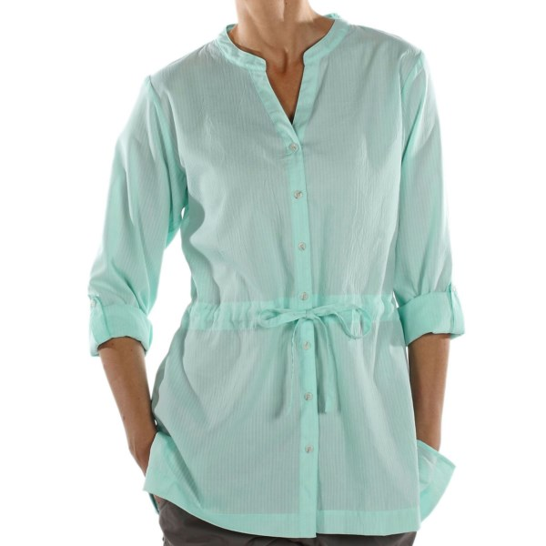 photo: ExOfficio Next-to-Nothing Zigana Long-Sleeve Shirt hiking shirt