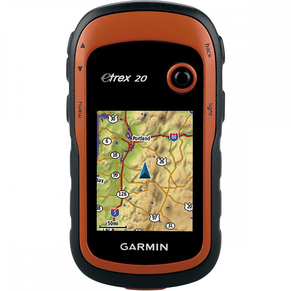 photo: Garmin eTrex 20 handheld gps receiver