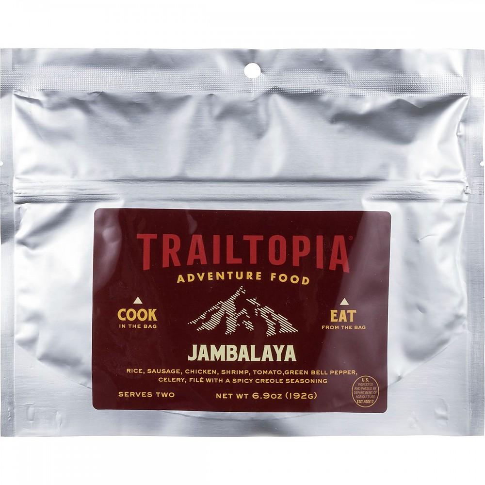 photo: Trailtopia Jambalaya meat entrée