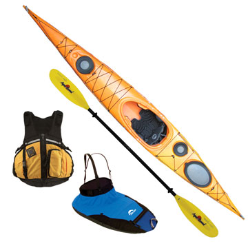 photo: Wilderness Systems Zephyr 155 touring kayak