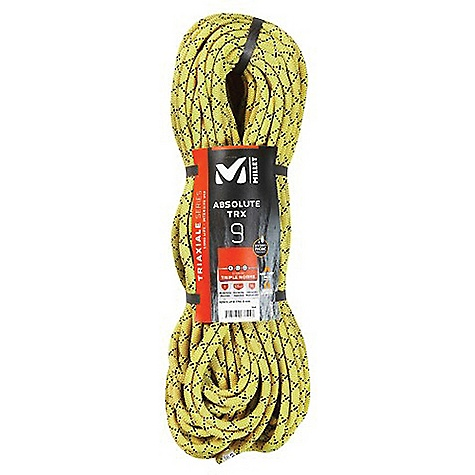 photo: Millet Absolute TRX 9 Hydrophobic dynamic rope