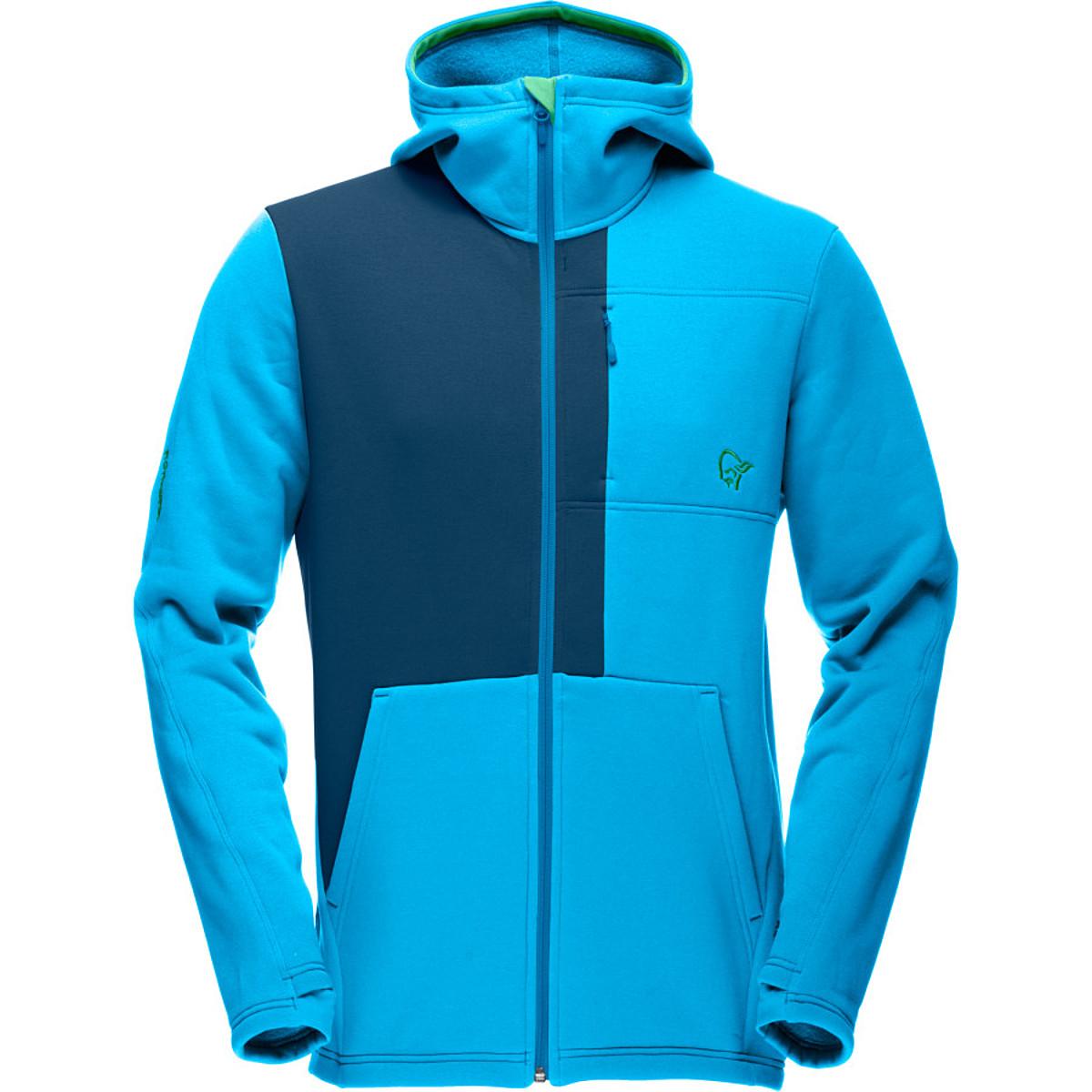 photo: Norrona Men's Narvik Warm2 Stretch Zip Hood fleece jacket