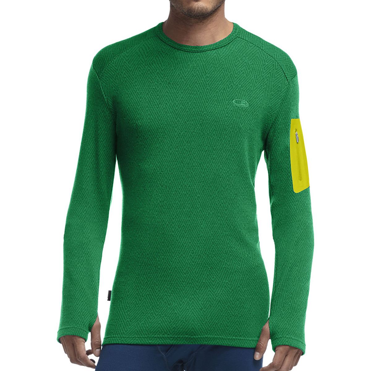 photo: Icebreaker Apex Long Sleeve Crewe base layer top