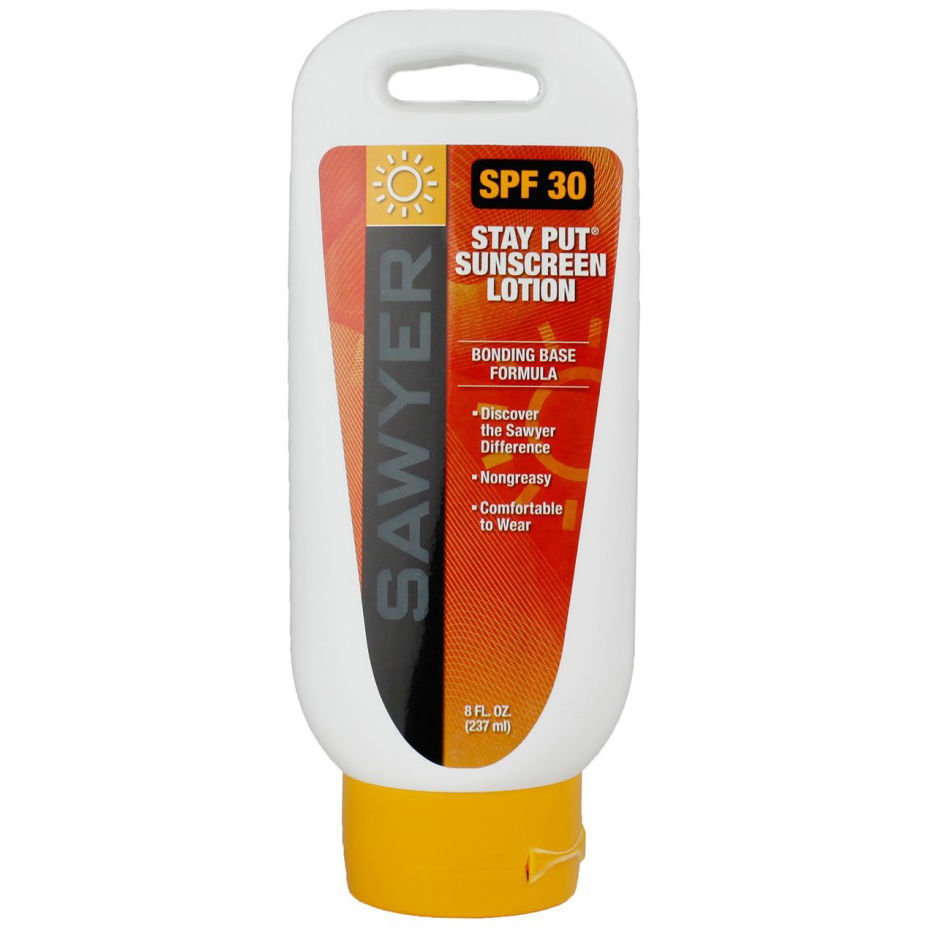photo: Sawyer Stay-Put Sunscreen SPF 30 sunscreen