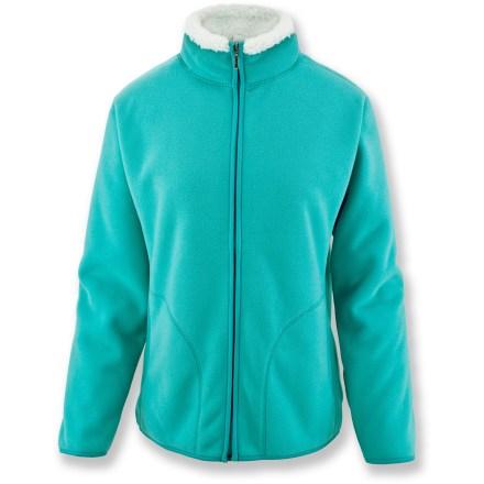 White Sierra Soda Springs Fleece Jacket