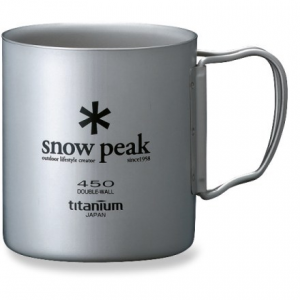 photo: Snow Peak Ti-Double 450 Cup cup/mug