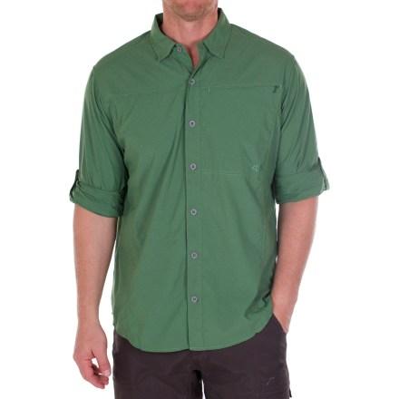 photo: ExOfficio Dryfly Flex Shirt hiking shirt