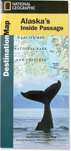 National Geographic Alaska's Inside Passage Destination Map