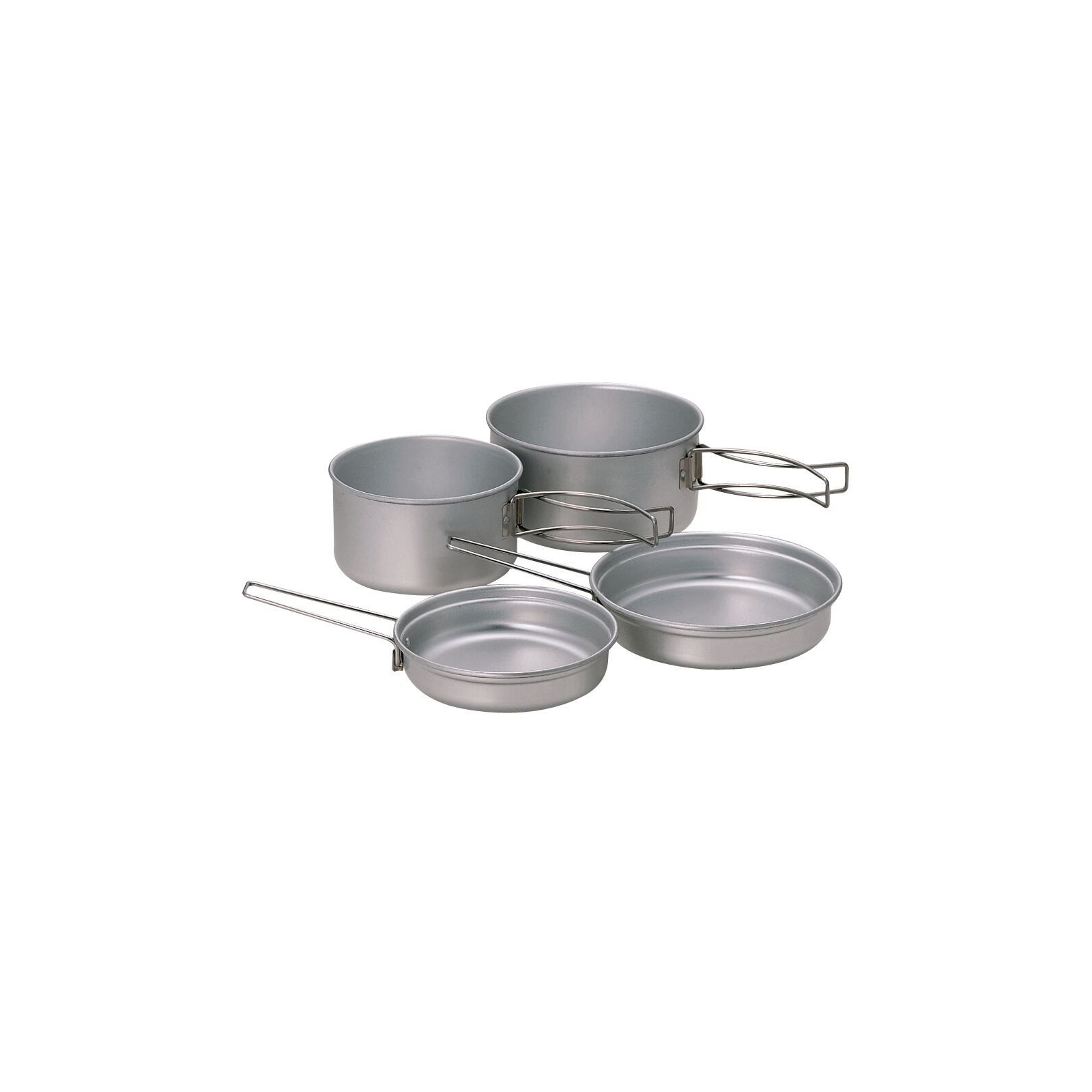 photo: Snow Peak Aluminum Multi Compact Cookset pot/pan