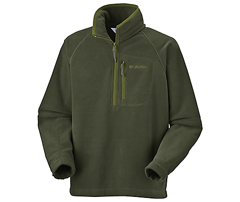 photo: Columbia Girls' Fast Trek Half Zip Fleece fleece top