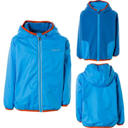photo: Patagonia Baby Duality Reversible Jacket fleece jacket