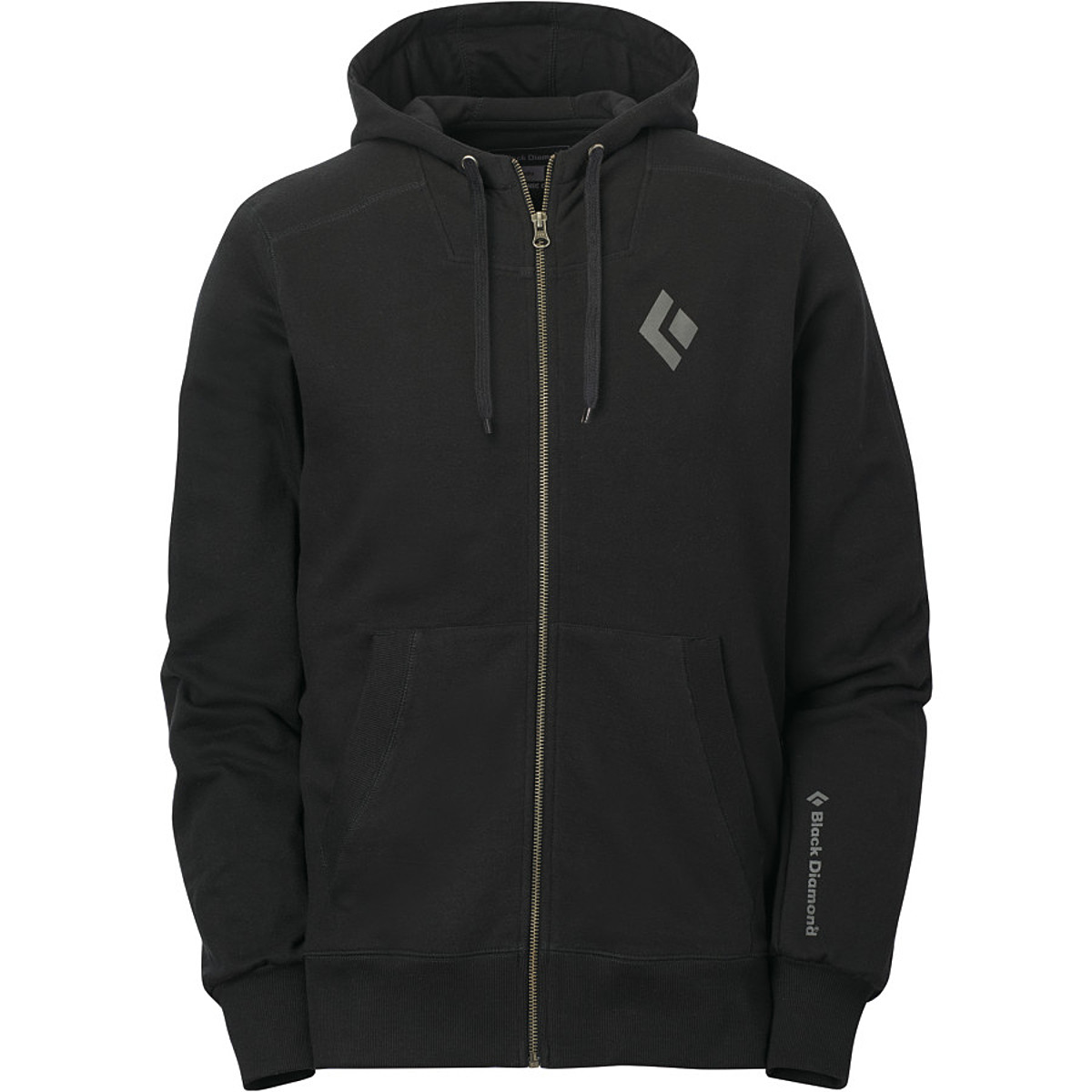 photo: Black Diamond Full-Zip Logo Hoodie fleece jacket