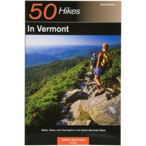 photo: Countryman Press 50 Hikes in Vermont us northeast guidebook