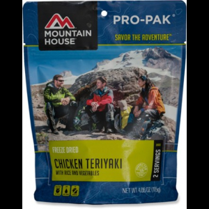 photo: Mountain House Chicken Teriyaki with Rice Pro-Pak meat entrée