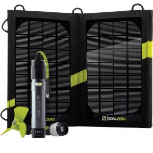 Goal Zero Swtich 10 Core Solar Kit