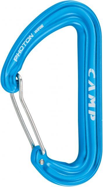 photo: CAMP Photon Wire Straight Gate non-locking carabiner