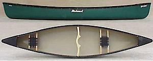 photo of a Mohawk Canoes recreational canoe