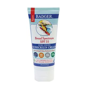Badger Sport Broad Spectrum SPF 35 Sunscreen
