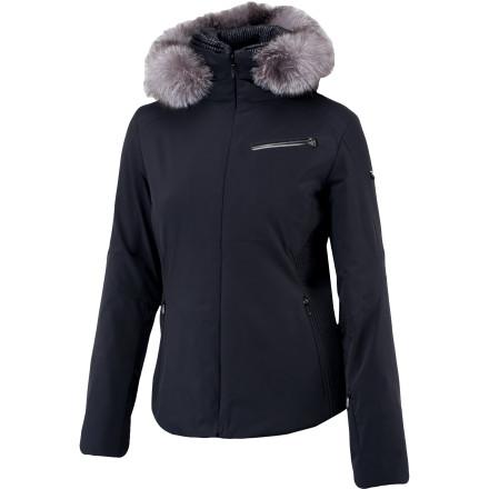 Spyder Posh Jacket with Real Fur Trim