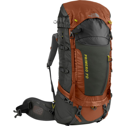 photo: The North Face Primero 70 weekend pack (3,000 - 4,499 cu in)