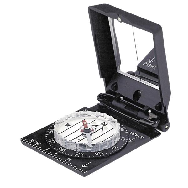 Brunton Trooper Pin-On Mirrored Compass