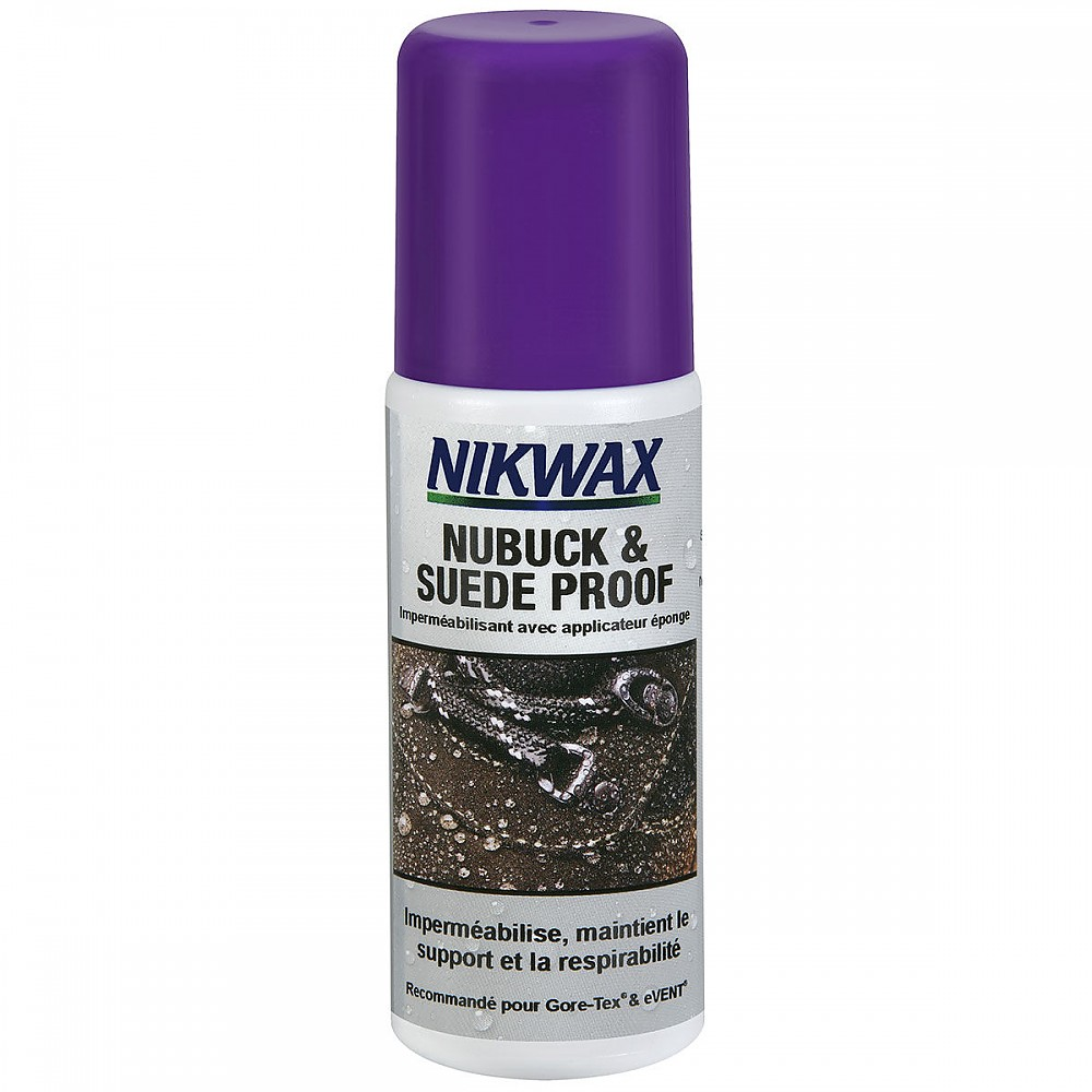 photo: Nikwax Nubuck & Suede Proof footwear cleaner/treatment