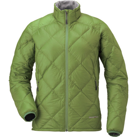 photo: MontBell Women's Alpine Light Down Jacket down insulated jacket