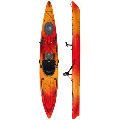 photo: Wilderness Systems Tarpon 140 Angler with Rudder sit-on-top kayak