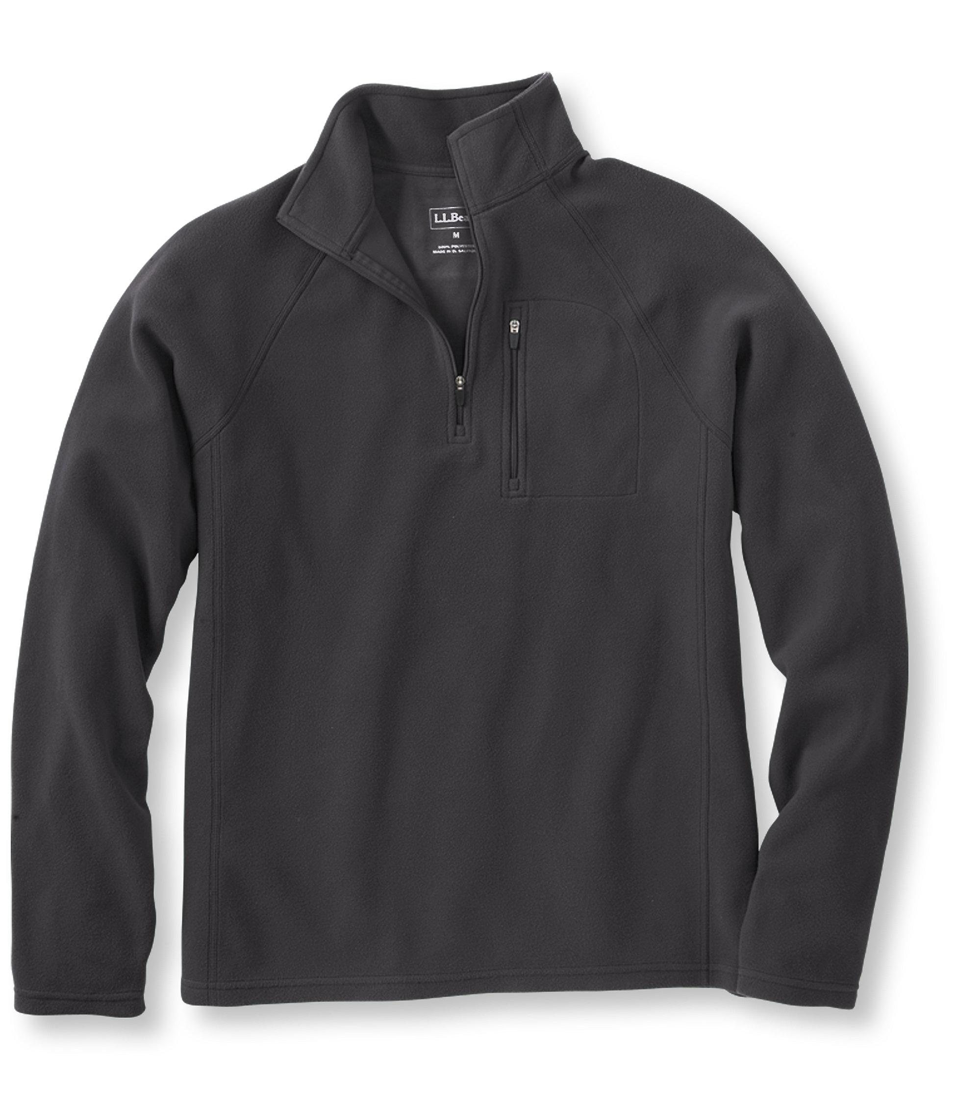 L.L.Bean Fitness Fleece, Quarter-Zip Pullover