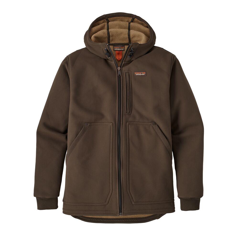 photo: Patagonia Burly Man Hooded Jacket soft shell jacket