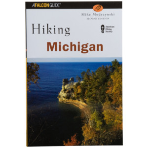 photo: Falcon Guides Hiking Michigan us midwest guidebook