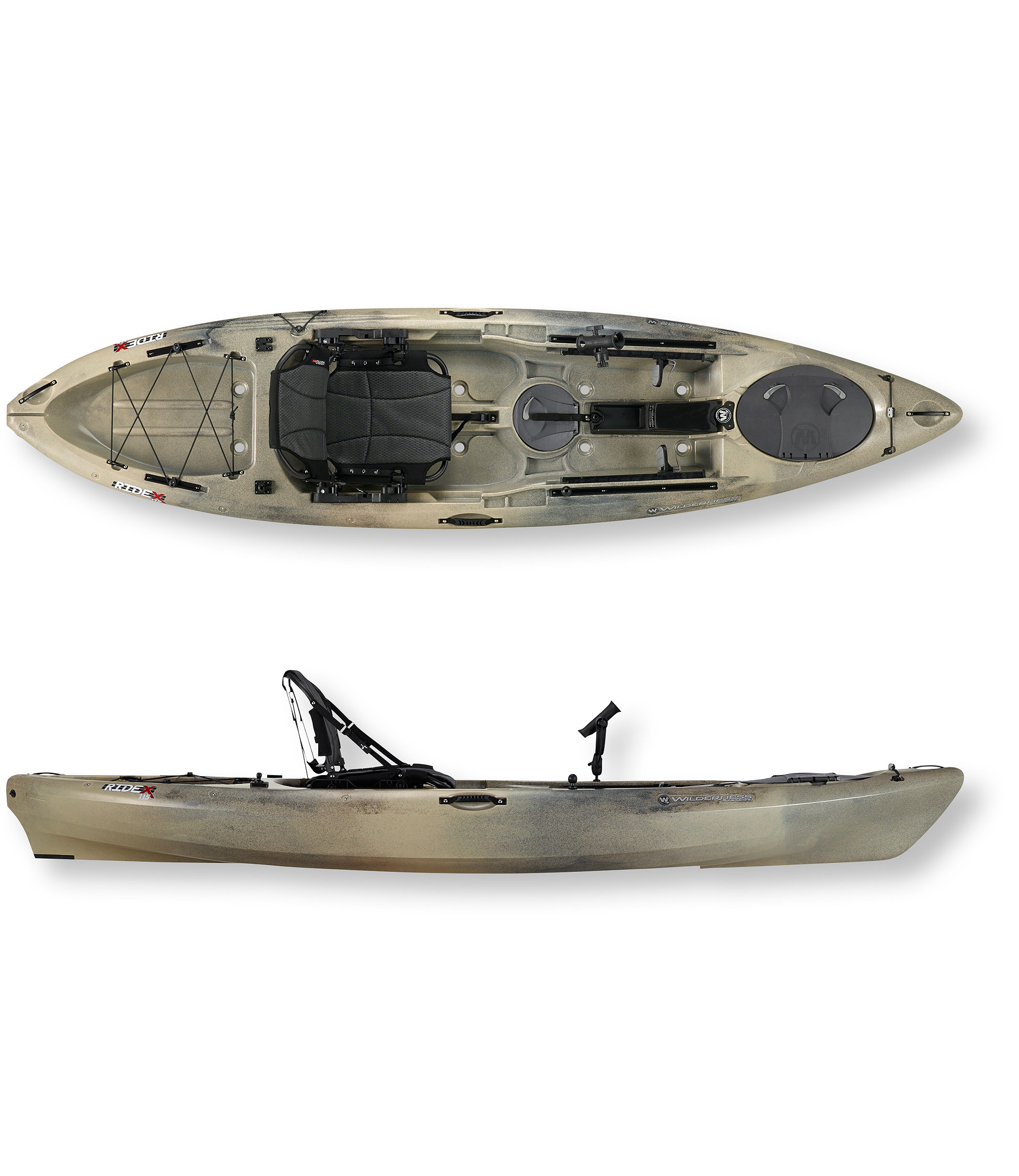 photo: Wilderness Systems Ride 115 Angler sit-on-top kayak