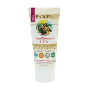 Badger Active Broad Spectrum SPF 15 Sunscreen